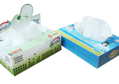 Tissue Soft BOX+Pop Up