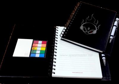 ไดอารี่ปกแข็ง+Post-it+Note flag
