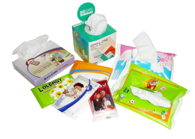 Tissue Soft Pack & BOX